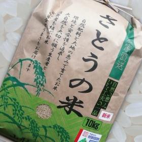 実力NOワン! 平成30年 山形県庄内産 はえぬき 特別栽培米 さとうの米 精米10kg
